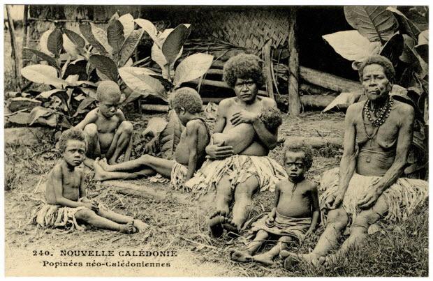 Nouvelle-Calédonie. Popinées néo-calédoniennes