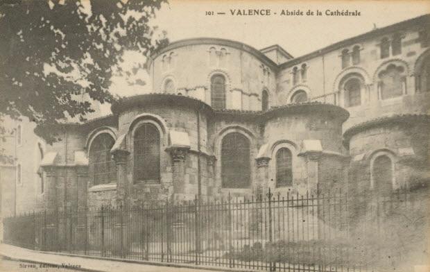 carte postale - ABSIDE DE LA CATHEDRALE
