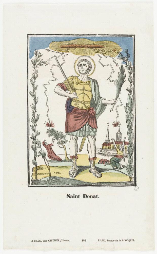 imagerie ancienne - Saint Donat.