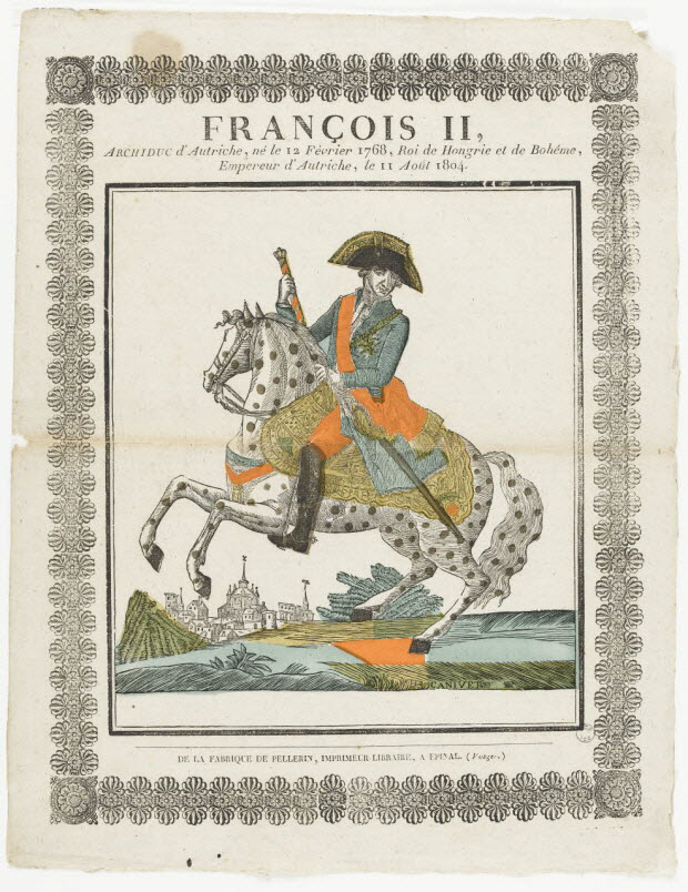 imagerie ancienne - FRANCOIS II,