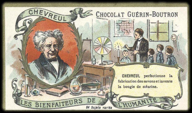 carte réclame - LES BIENFAITEURS DE L' HUMANITÉ CHEVREUL