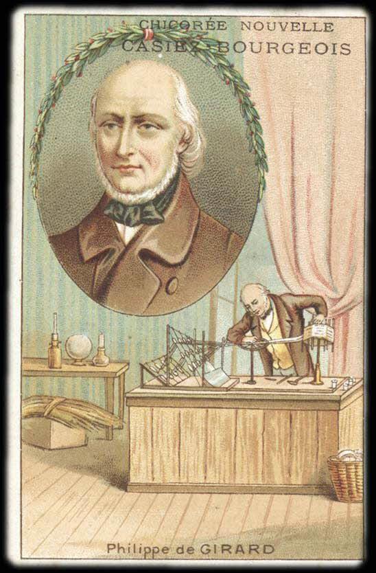 carte réclame - Philippe de GIRARD