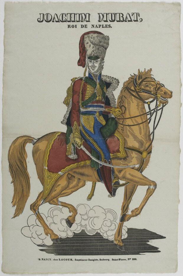 imagerie ancienne - JOACHIM MURAT, ROI DE NAPLES.