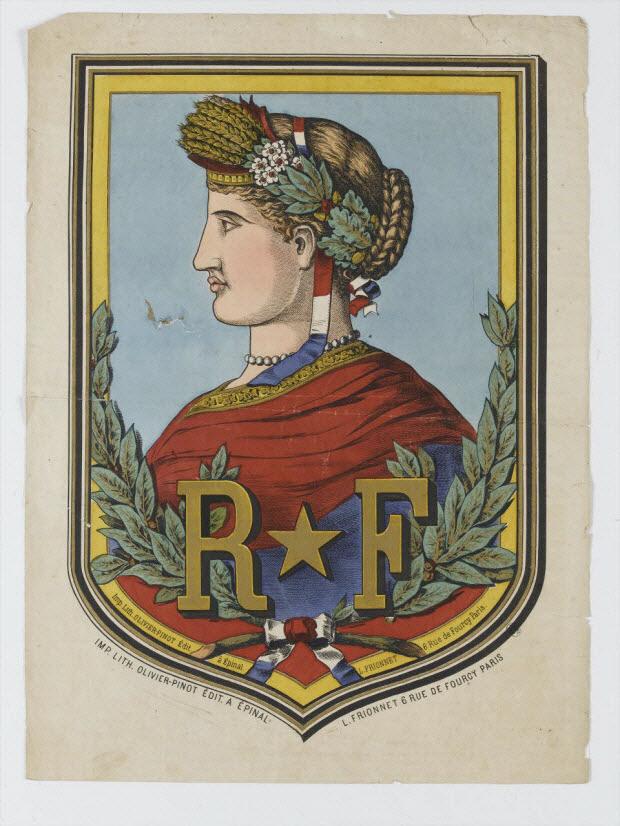 estampe - Allégorie de la République Française