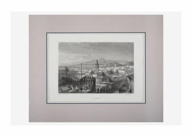 gravure - Tunis