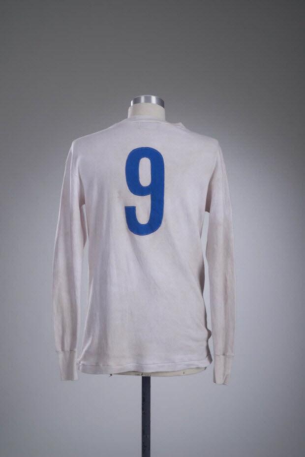 maillot de sport - Maillot porté par Alfredo Di Stefano avec l'équipe du Real Madrid CF. lors de la saison de Liga 1958/59