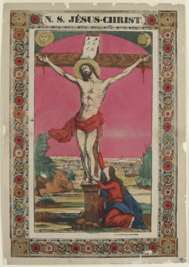 estampe - N. S. JÉSUS-CHRIST.