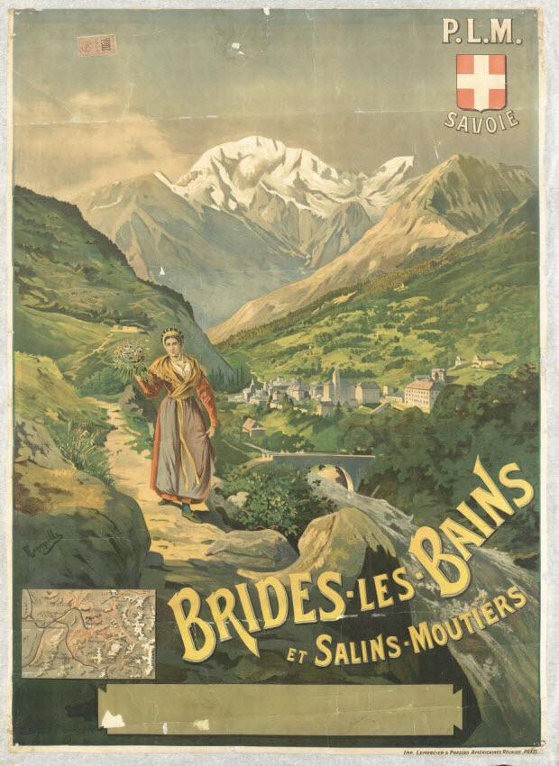 affiche - BRIDES-LES-BAINS ET SALINS-MOUTIERS