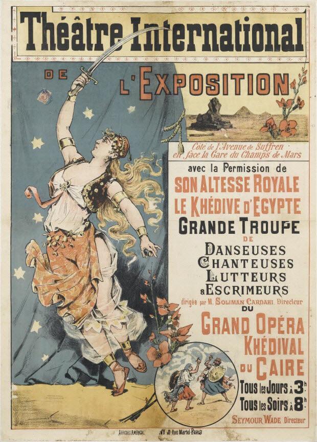affiche - Théâtre International DE L'EXPOSITION