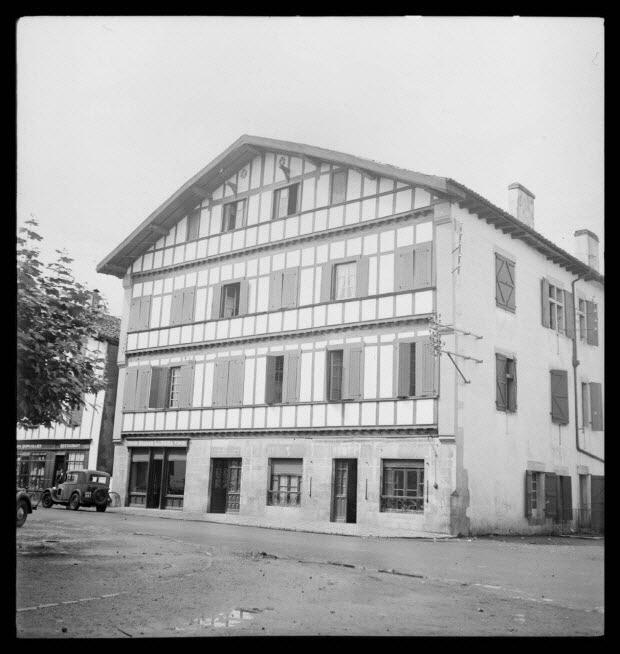 photographie - Maison Monduteguy. Façade