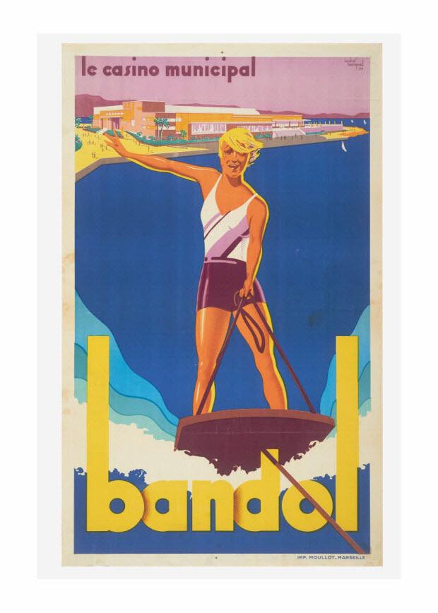 affiche - Bandol - le casino municipal