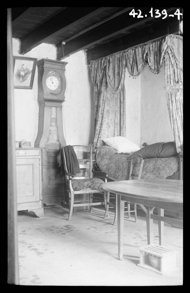 photographie - Chez Madame Bonnetau. Vue d'Intérieur