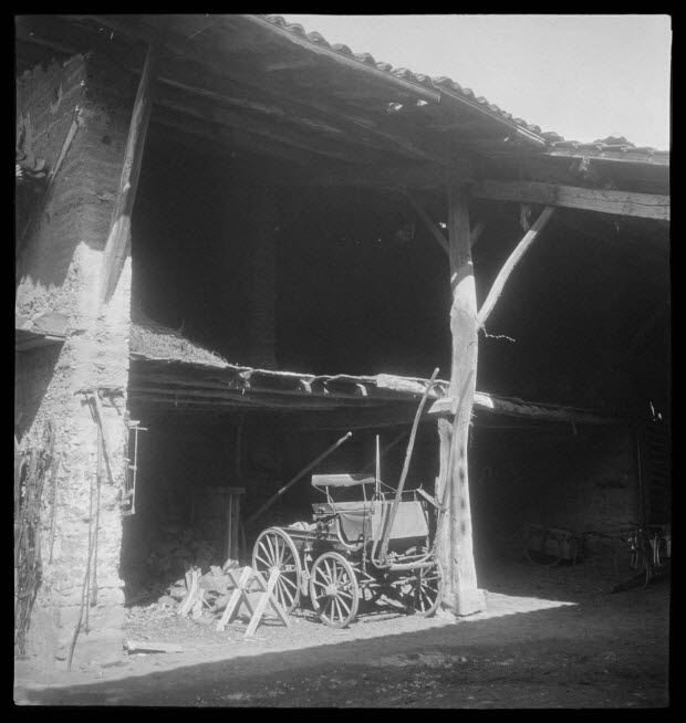 photographie - Petit hangar de Monsieur Girard