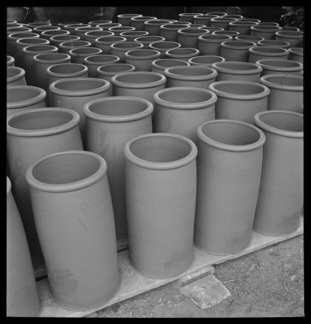 photographie - Entreprise de poterie Plaisance. Mabons et séchage