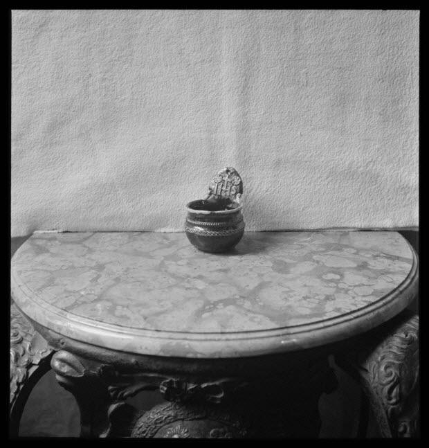 photographie - Chez Monsieur Montmélien. Bénitier