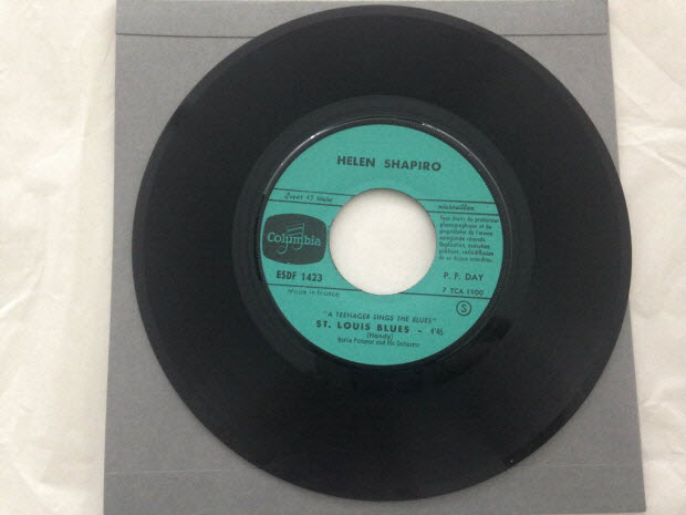 disque 45 tours - A teenager sings the blues