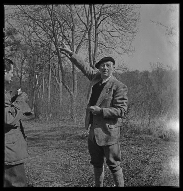 photographie - Domaine de Wideville. Portrait de Monsieur Ernest Rèbre