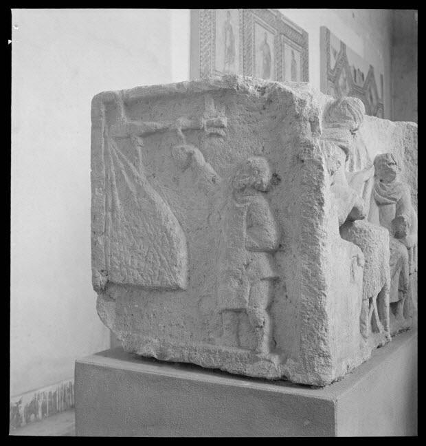 photographie - Rencontre franco-allemande d'art et traditions populaires (31 juillet - 6 août 1950) ; Trèves : Landesmuseum