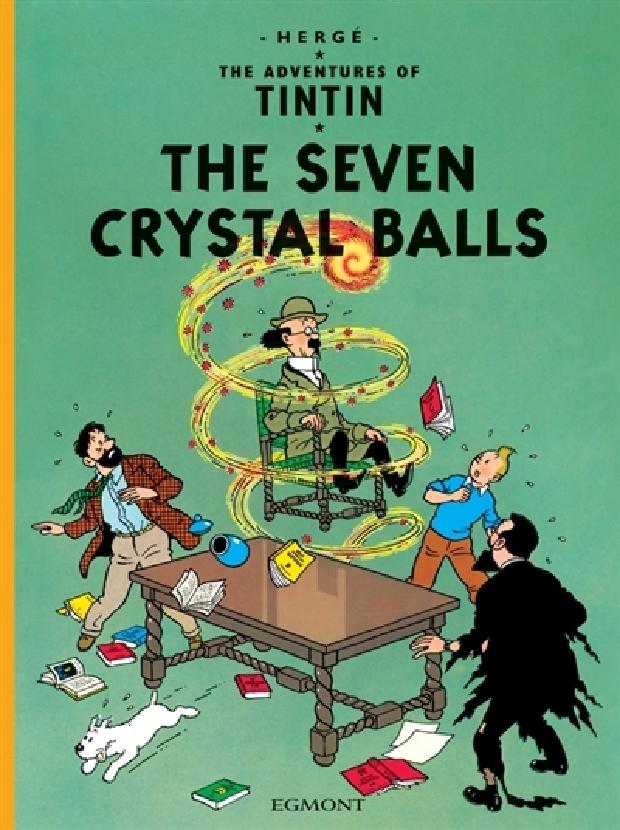 Livre - The seven crystal balls