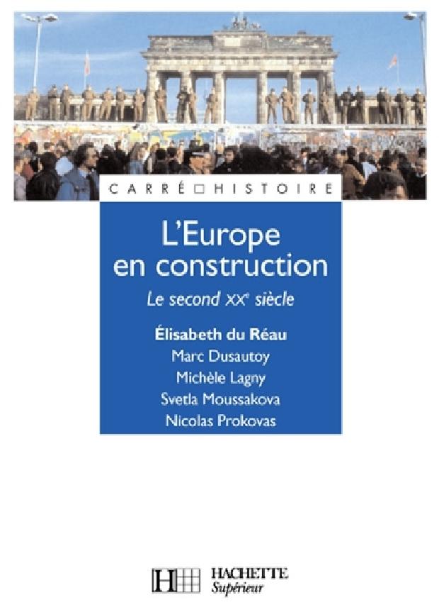 Livre - L'Europe en construction