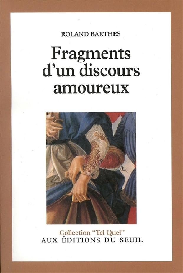 Livre - Fragments d'un discours amoureux