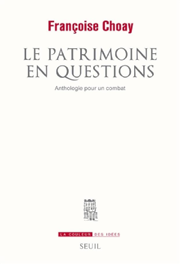 Livre - Le patrimoine en questions