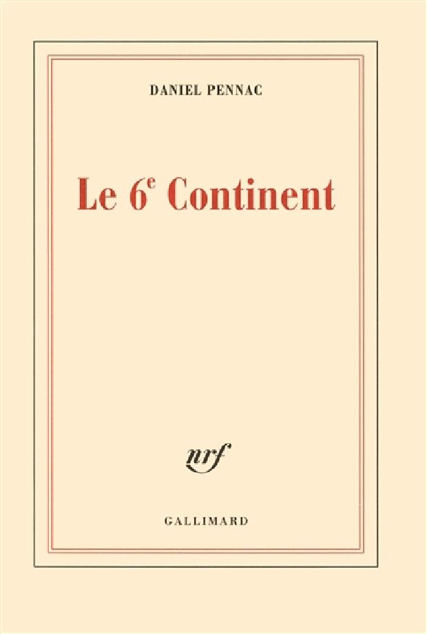 Livre - Le 6e continent