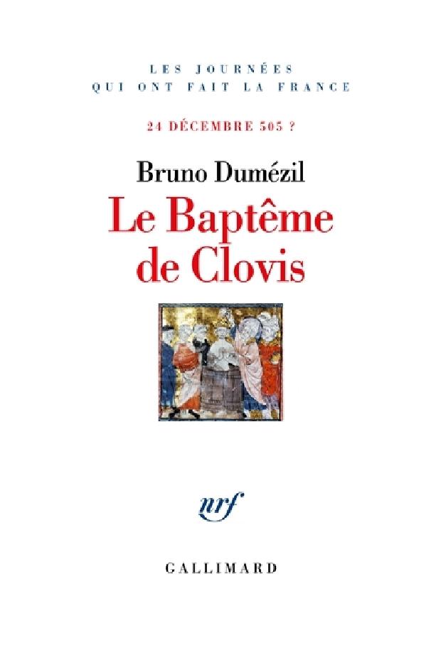 Livre - Le baptême de Clovis