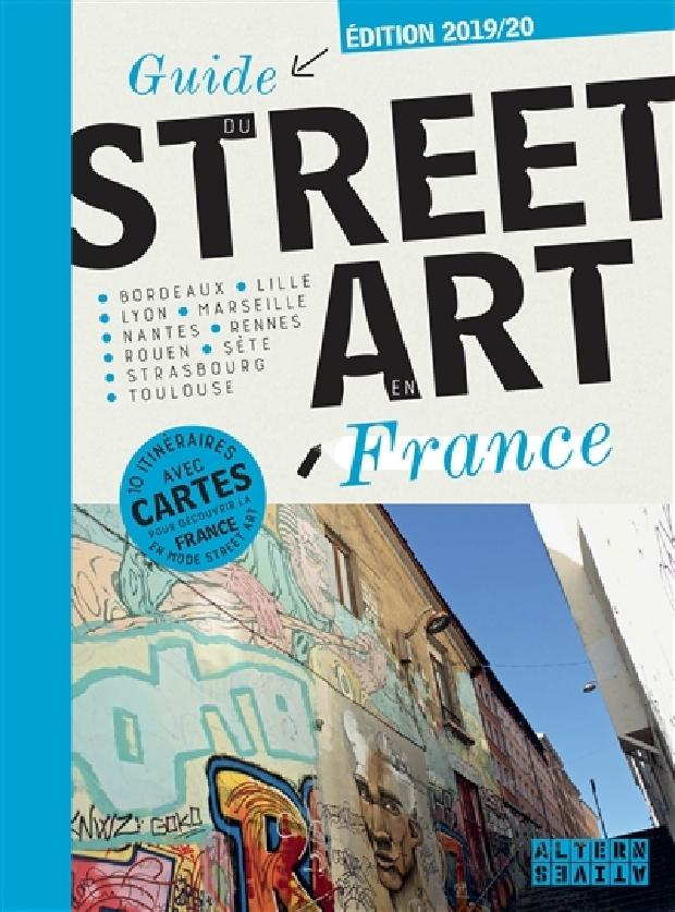 Livre - Guide du street art en France