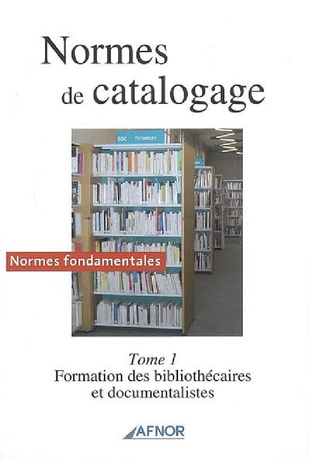 Livre - Normes de catalogage
