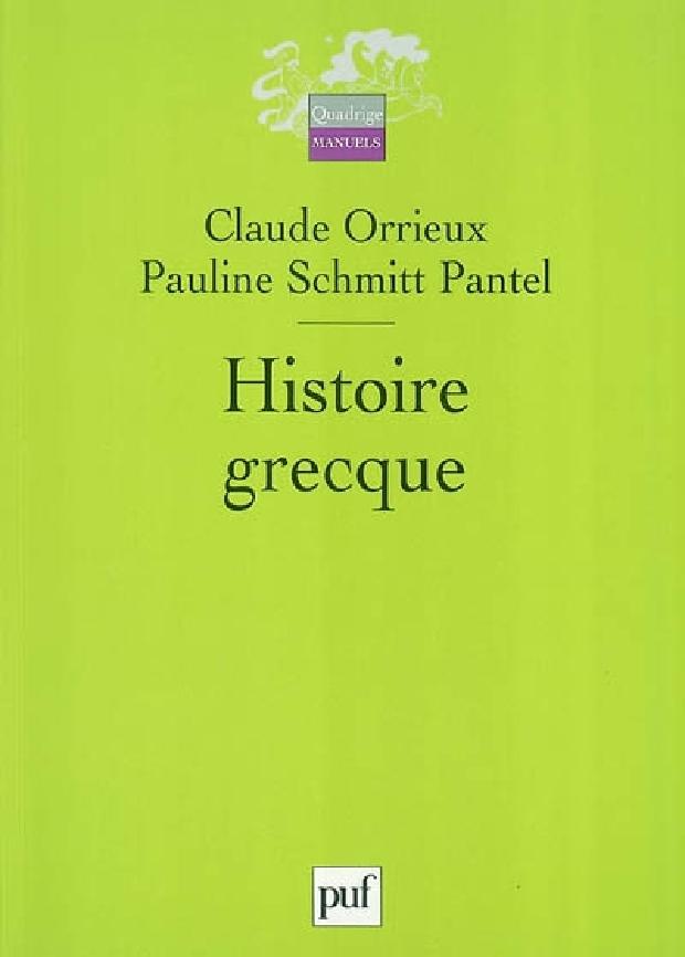 Livre - Histoire grecque
