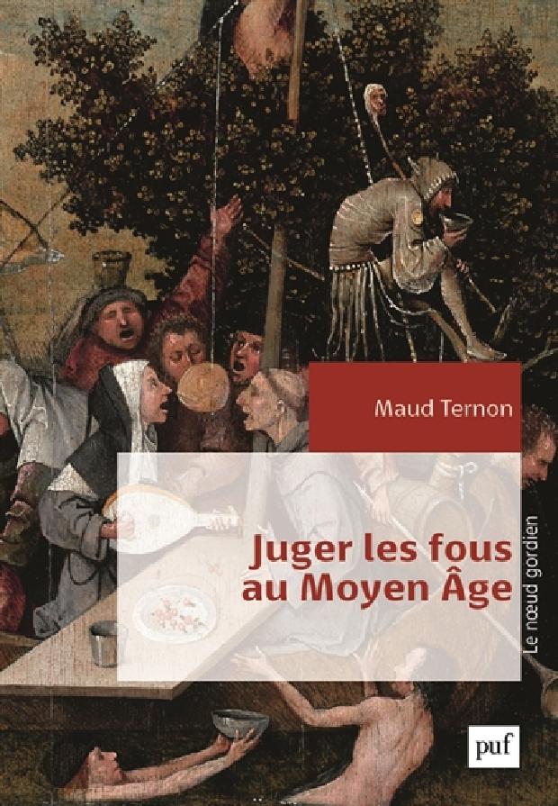 Livre - Juger les fous au Moyen Âge
