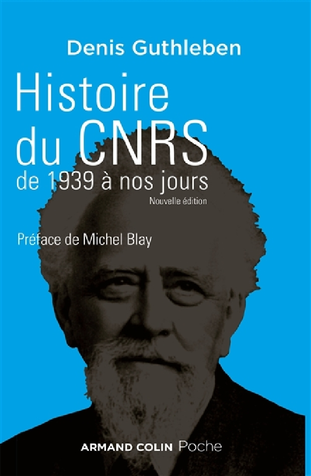 Livre - Histoire du CNRS de 1939 à nos jours