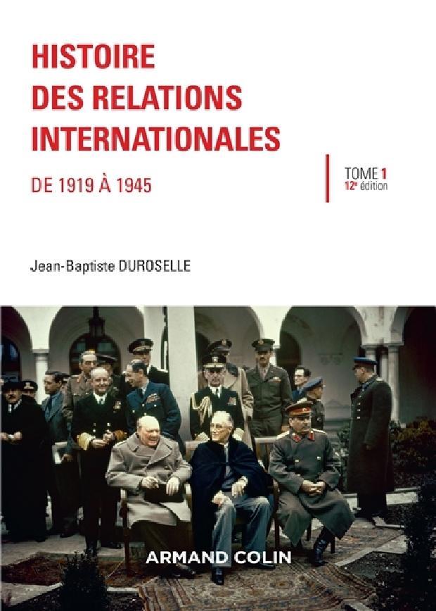 Livre - Histoire des relations internationales