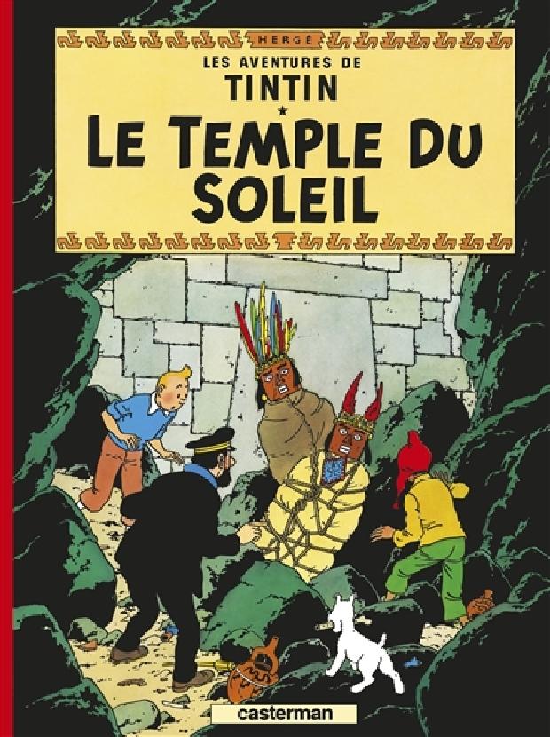 Livre - Le temple du soleil