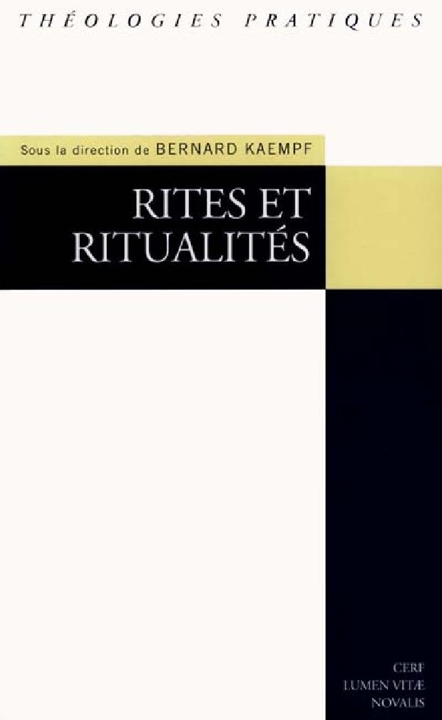 Livre - Rites et ritualités