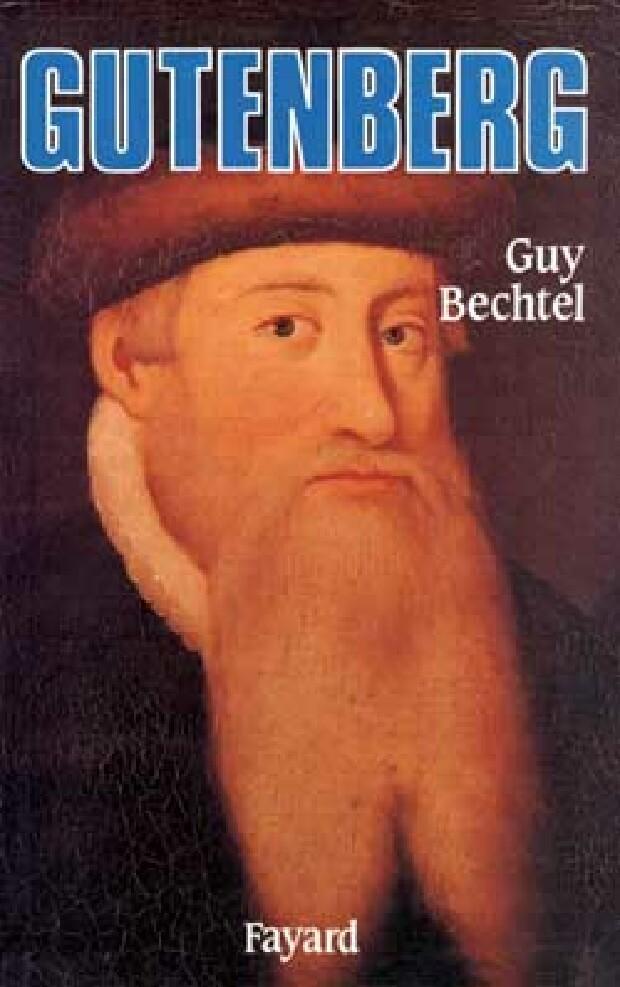Livre - Gutenberg et l'invention de l'imprimerie