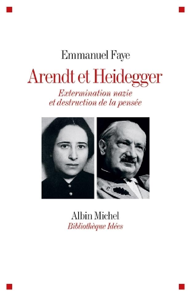 Livre - Arendt et Heidegger