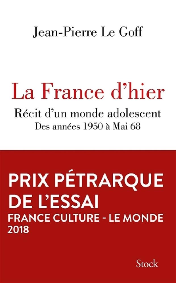 Livre - La France d'hier