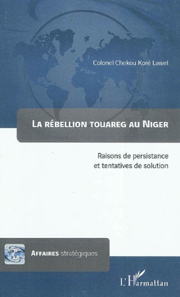Livre - La rébellion touareg au Niger