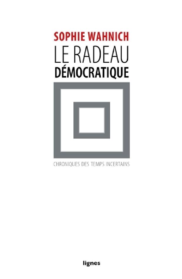 Livre - Le radeau démocratique