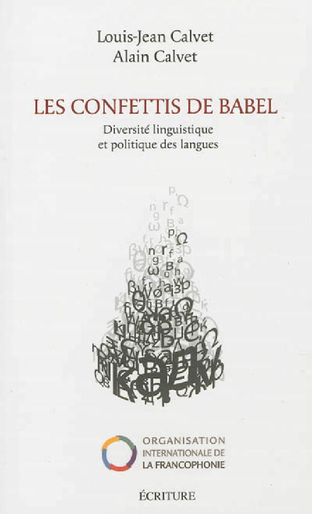 Livre - Les confettis de Babel