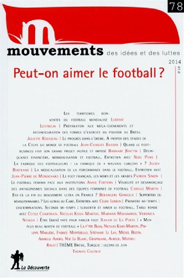 Livre - Peut-on aimer le football ?