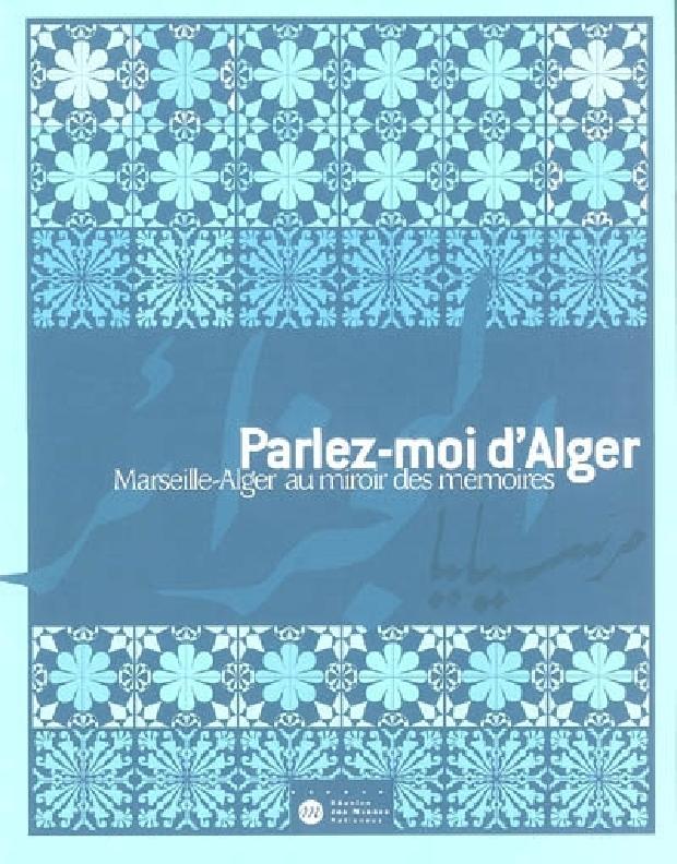 Livre - Parlez-moi d'Alger