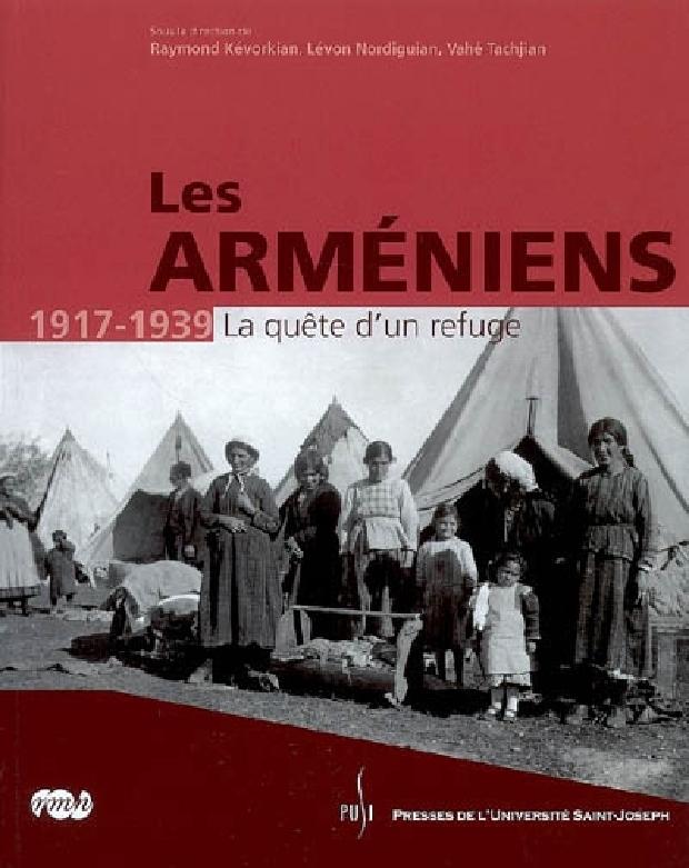 Livre - Les Arméniens 1917-1939