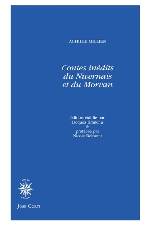Livre - Contes inédits du Nivernais et du Morvan