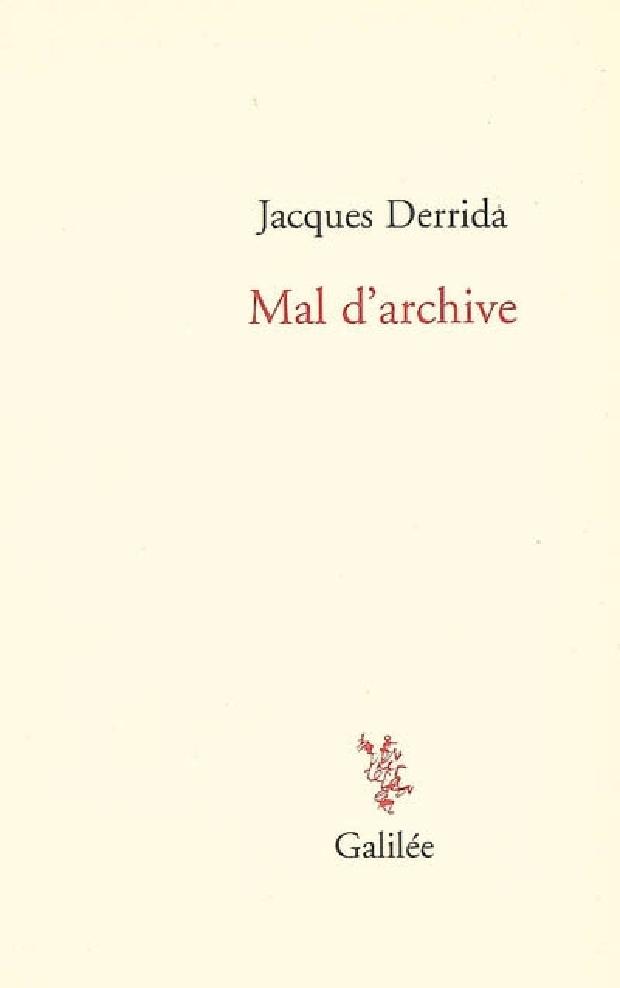 Livre - Mal d'archive