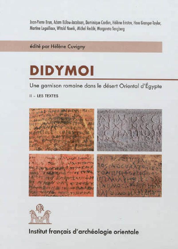 Livre - Une garnison romaine dans le désert oriental d'Égypte II