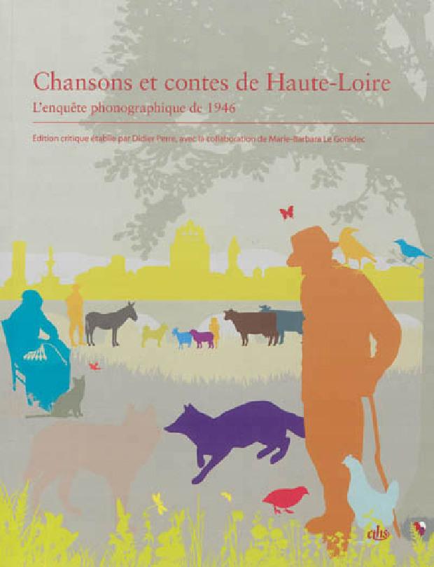 Livre - Chansons et contes de Haute-Loire