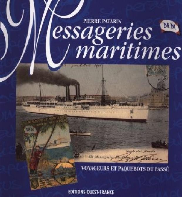 Livre - Messageries maritimes